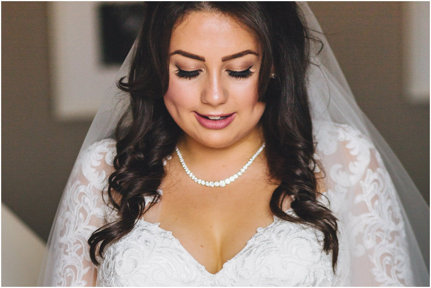 Windsor wedding - Bridal portrait at the MacDonald Windsor hotel
