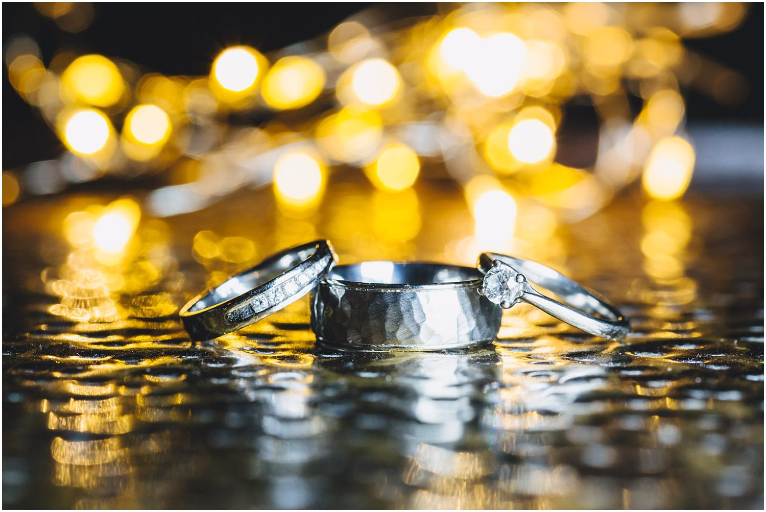 Windsor wedding. Wedding rings