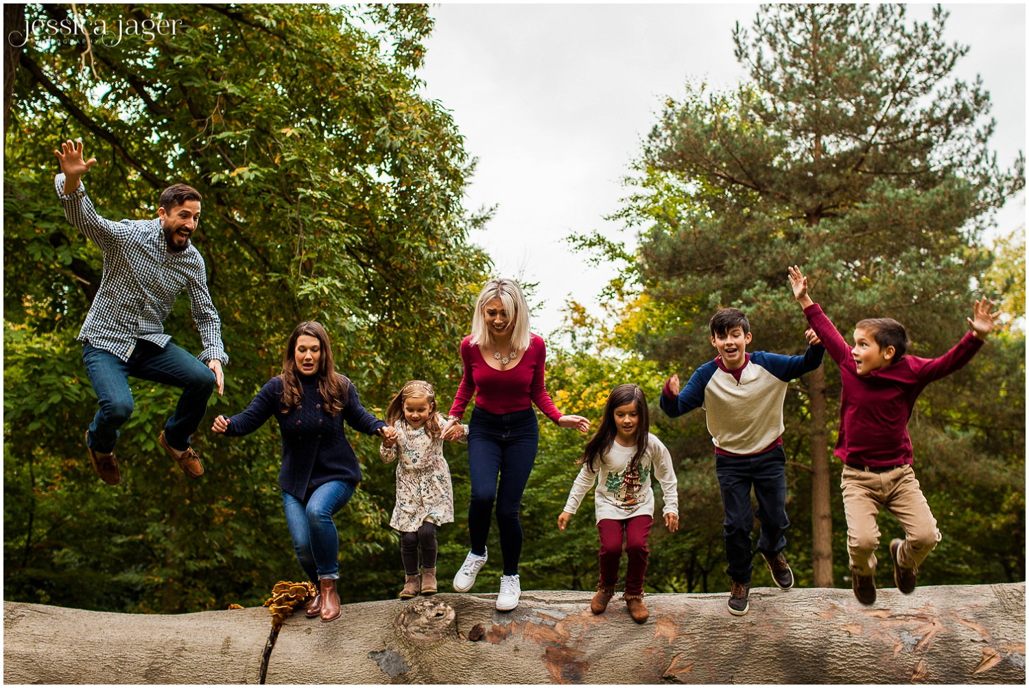 Virginia Water Family Photography