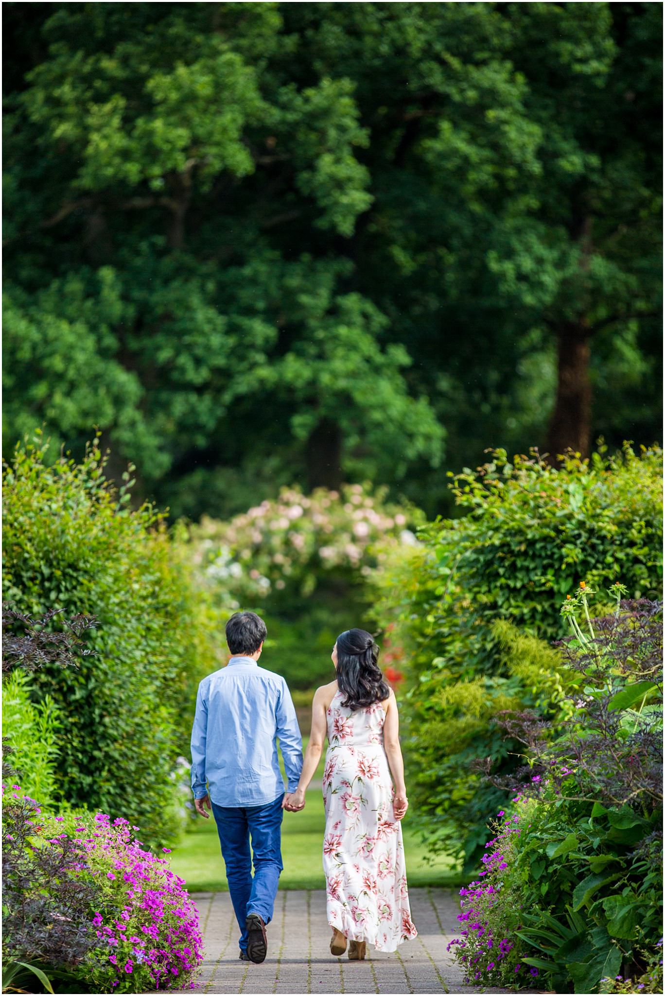 Wisley Gardens Pre-Wedding Shoot