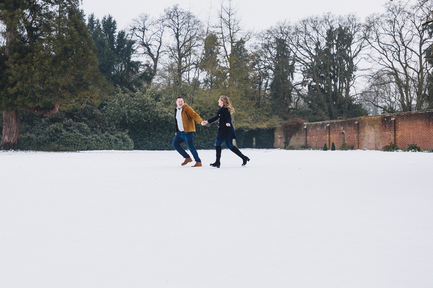 A Wintry Berkshire Photoshoot
